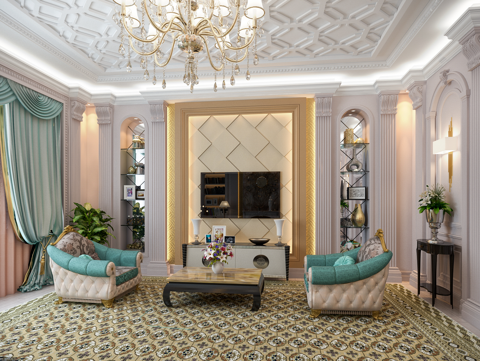 Arabic Design, Interior Design, Qatar Design, Luxuries Design,
